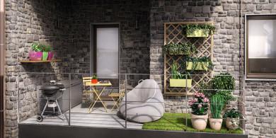 Arredamento giardino terrazzo e giardinaggio offerte e for Arredamento per terrazzo piccolo