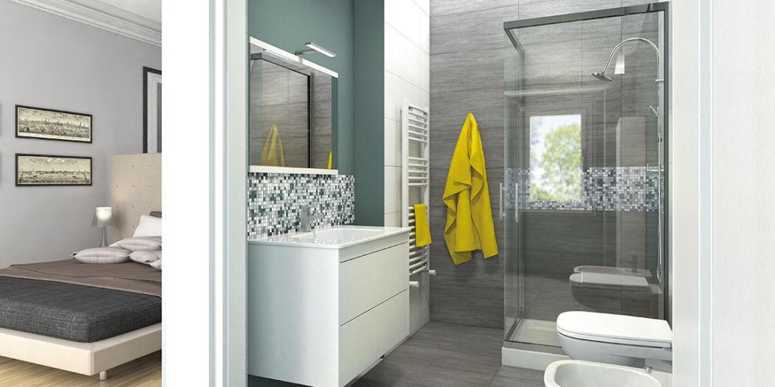 Estremamente creare bagno in camera da letto my09 pineglen - Bagno in camera ...