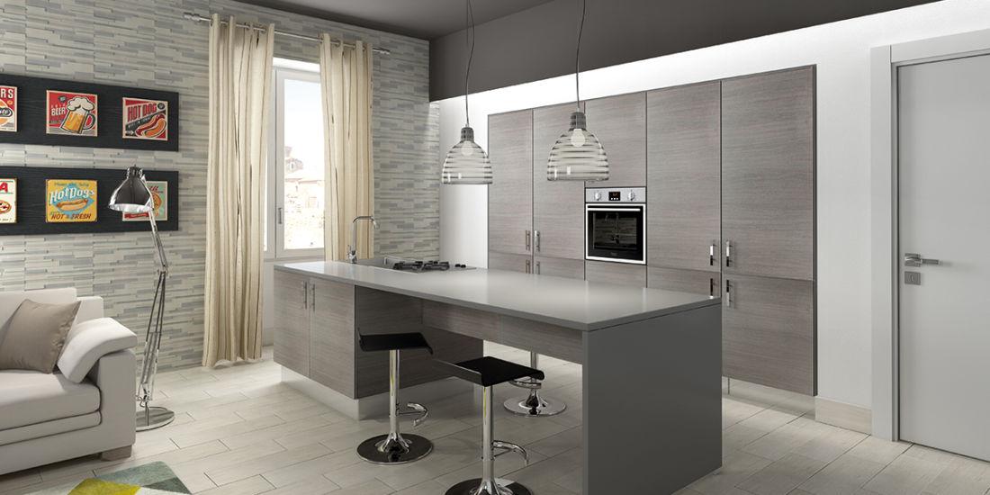 Soggiorno con cucina a vista: un nuovo modo di abitare fai da te ...