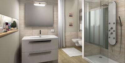 idee arredo bagno - come arredare un bagno | leroy merlin - Progetti Bagni Moderni