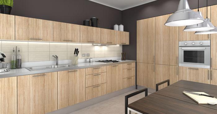 Idee per una cucina è a L con una famiglia numerosa fai da te ...