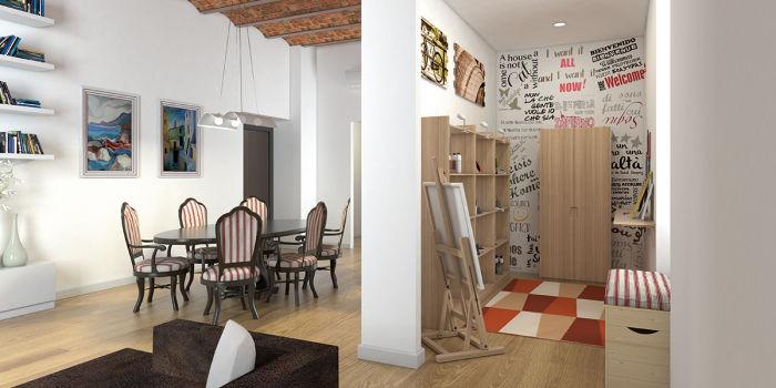 Arredare e organizzare il tuo soggiorno con pratiche soluzioni fai ...