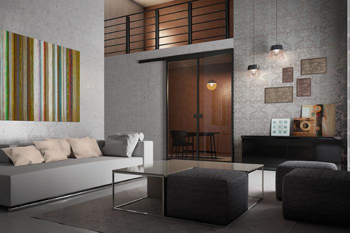 Arredare un soggiorno elegante, nelle cento sfumature del grigio fai ...