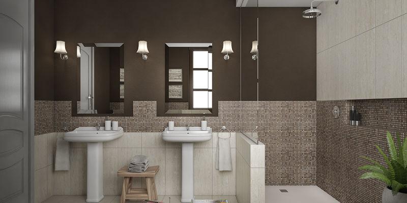 Idee per arredare un bagno classico e senza tempo con un illuminazione adeguata fai da te - Illuminazione bagno leroy merlin ...