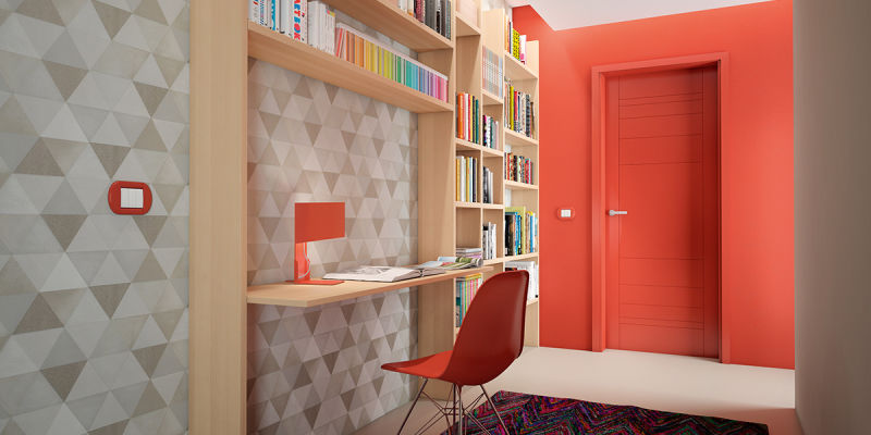 Arredare l ingresso con una parete attrezzata a libreria for Come arredare una parete attrezzata