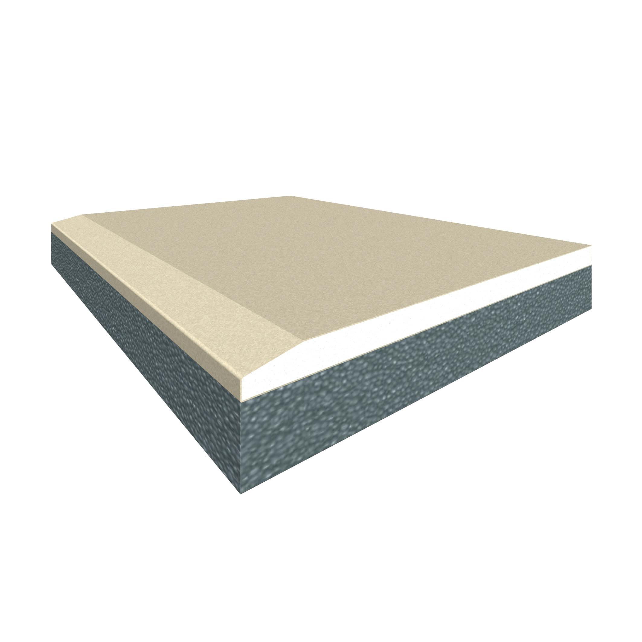 Lastra Di Cartongesso Accoppiata Con Isolante 90 X 200 Cm Spessore