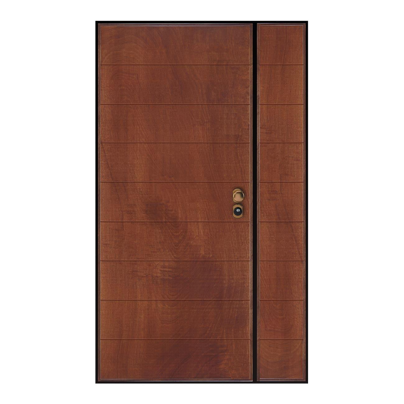 Porta Blindata Big 2 Ante Noce L 120 X H 210 Cm Dx Prezzi E Offerte