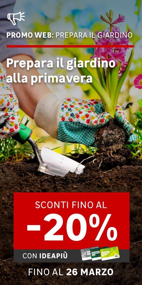 Promo web Prepara il giardino alla primavera