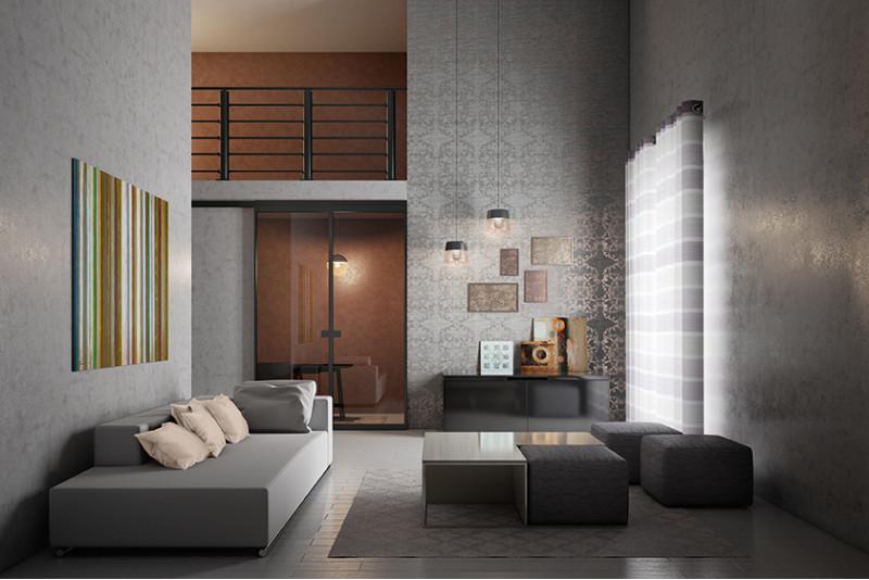 Arredare un soggiorno elegante nelle cento sfumature del for Soggiorno elegante