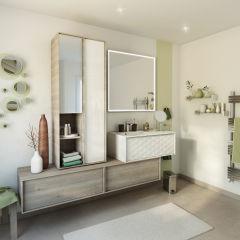 bagno mobile bagno neo frame l 90 x p 48 x h 32 cm 1