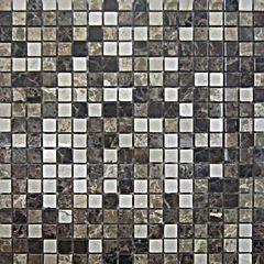 bagno mosaico travertino 30 x 30 mix marronebeige 35414512