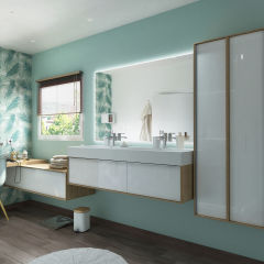 bagno mobile bagno neo frame l 150 x p 48 x h 52 cm 2