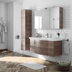 Mobile bagno Solitaire terra L 97 cm: prezzi e offerte online