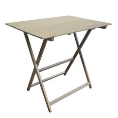 Tavolo pieghevole king 80 x 60 cm faggio prezzi e for Leroy merlin gambe tavolo