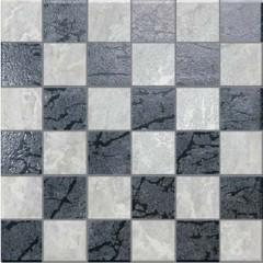 Pavimenti e rivestimenti-Mosaico Eleganz mix mosaico 34 x 34 nero ...