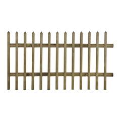 Bordure per aiuole cancelli in legno staccionate in legno for Obi pannelli legno