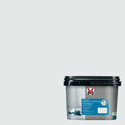 Vernici Smalto Piastrelle V33 Bianco Piuma Satinato 2 L 35194565