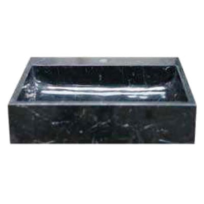 Lavabo da appoggio rettangolare L 50 x P 45 x H 12 cm: prezzi e ...