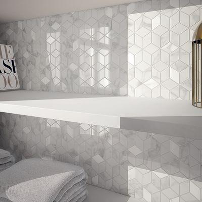 Bagno Mosaico Murano 26 X 28 Cm Bianco 81253670