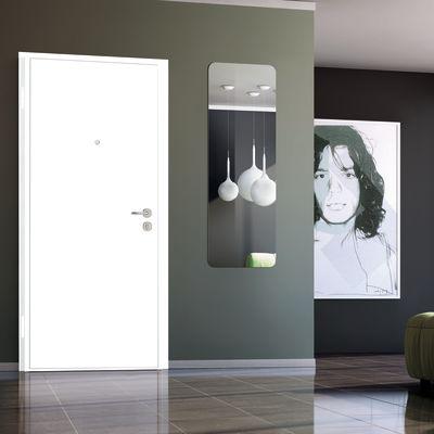 Porta blindata Bicolor bianco- noce L 90 x H 210 cm sx: prezzi e ...