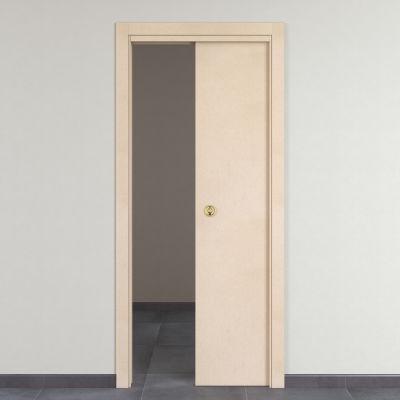 Porta da interno scorrevole Saint Germain grezza 80 x H 210 cm ...