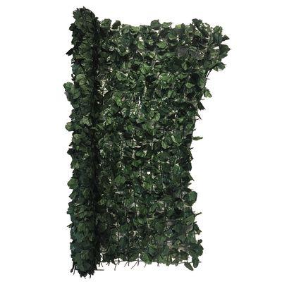 Siepe artificiale Siepe Artificiale Ivy Plus Verde Scuro 100x300 cm ...