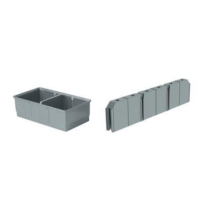 Contenitori in plastica leroy merlin cool ordine e l x p - Cassettiere plastica ikea ...