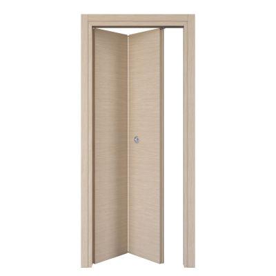 Porta da interno pieghevole Spring rovere chiaro 80 x H 210 cm sx ...