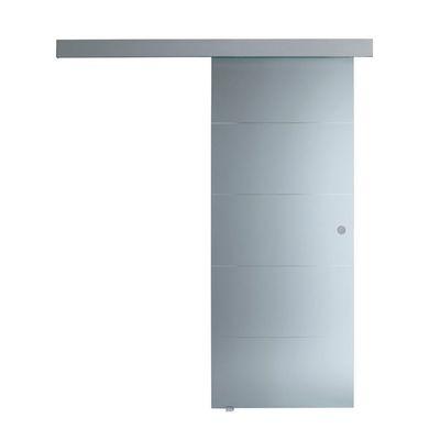 Porta da interno scorrevole Pegaso trasparente 96 x H 215 cm ...