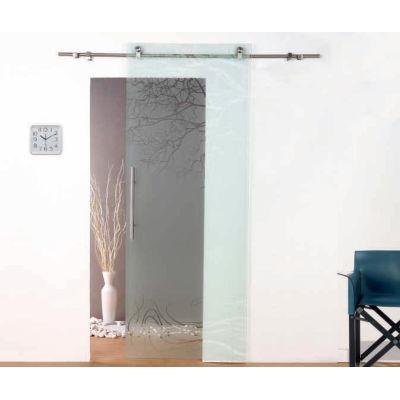 Porta da interno scorrevole Tokyo satinato 86 x H 220 cm dx: prezzi ...