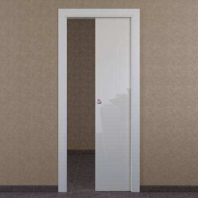 Porta da interno scorrevole Massaua white bianco 60 x H 210 cm ...