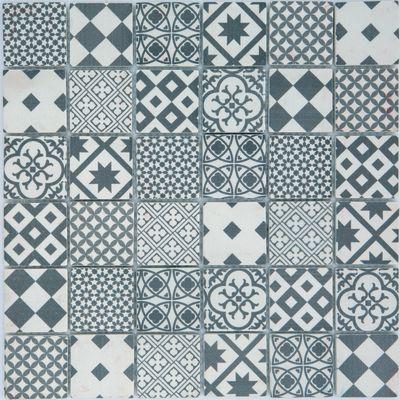 Mosaico Cementina 30 x 30 cm bianco, grigio: prezzi e offerte online