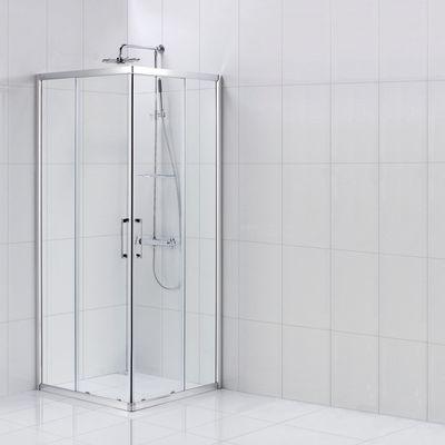 Box doccia scorrevole remix2 77 5 79 x 77 5 79 h 185 cm cristallo 5 mm trasparente silver - Cabine doccia prezzi leroy merlin ...