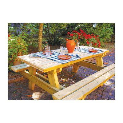 Set birreria campagna prezzi e offerte online for Panche in legno leroy merlin