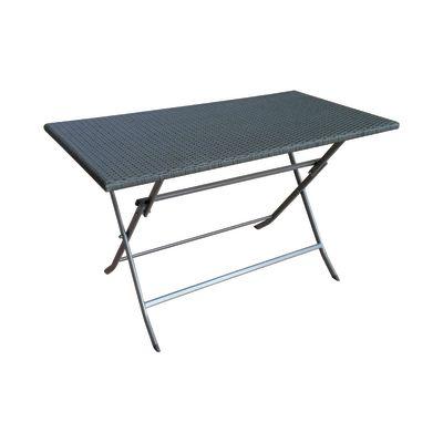 Tavolo pieghevole 120 x 60 cm antracite prezzi e offerte - Tavolo pieghevole leroy merlin ...