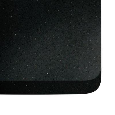 Piano cucina su misura quarzo Nero stellar 2 cm: prezzi e offerte online