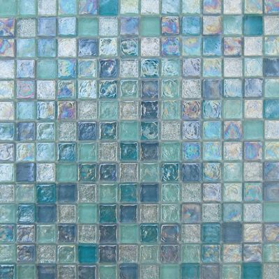 Mosaico Mix 30,4 x 30,4 cm blu: prezzi e offerte online