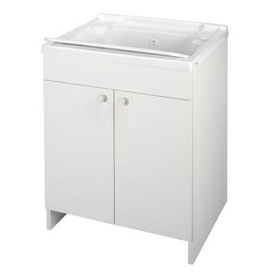 Mobile lavatoio Prix bianco L 60 x P 50 x H 80 cm: prezzi e ...