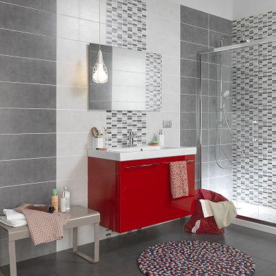 Piastrella Sirio 20 x 50 cm grigio: prezzi e offerte online