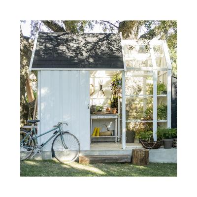 casetta in legno grezzo Serra Vertigo 5,6 m², spessore 28 mm: prezzi ...
