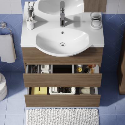Mobile bagno Elise rovere L 80 cm: prezzi e offerte online