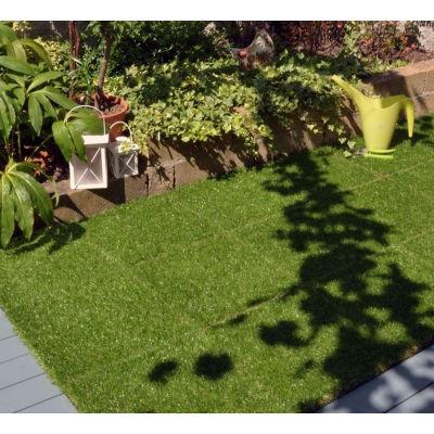 Piastrella erba sintetica 30 x 30 cm x 28 mm: prezzi e offerte online