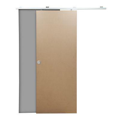 Porta da interno scorrevole Practical filomuro grezzo 70 x H 210 ...