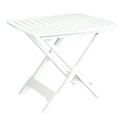 Tavolo pieghevole Tevere, 79 x 72 cm bianco: prezzi e offerte online