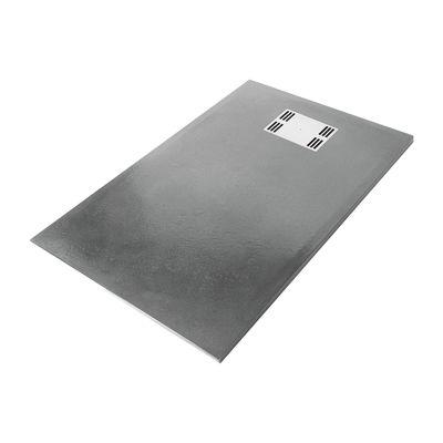 Piatto doccia resina Sensea Slate 70 x 120 cm grigio: prezzi e ...