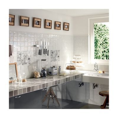Piastrella Petite Maison 10 x 10 cm bianco: prezzi e offerte online
