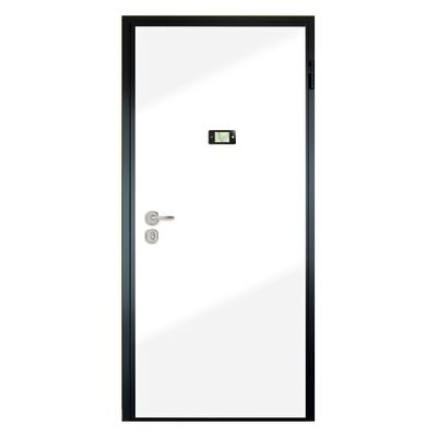 Porta blindata Schumy noce L 80 x H 200 cm sx: prezzi e offerte online