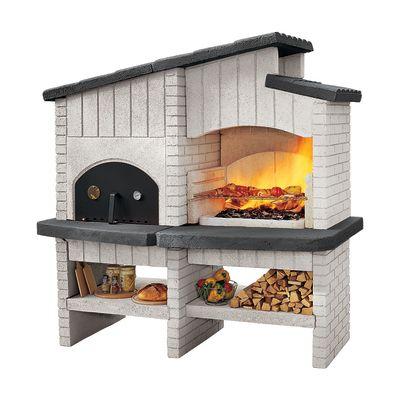 Perfect Giardino E Terrazzo Barbecue In Muratura Con Cappa E Forno New  Zealand 33487965