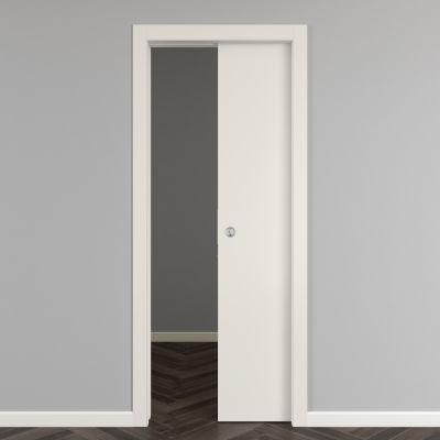 Porta da interno scorrevole Strauss 80 x H 210 cm reversibile ...