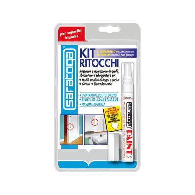 Kit di riparazione Ritocchi Saratoga Bianco brillante 0,007 L ...